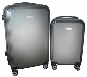 Sada 2 kufrů  T-Class®  TC1360Š2 s TSA zámkem z ABS plastu tmavě šedý
