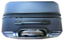 Sada 2 kufrů T-Class 1360 modrá , ABS plast, TSA zámek