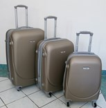 Sada plastových kufrů T-Class JD-XL