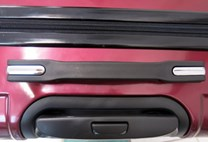 Sada 3 kufrů T-Class TC628,s TSA zámkem matná červená