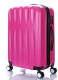 Sada 3 kufrů T-Class TPL3029 ABS růžová