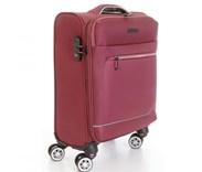 Sada 2 kufrů T-Class textilní s  TSA zámkem, vínově červená