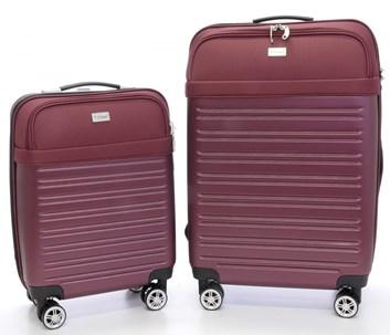 Sada 2 Business kufrů T-Class 1610HČV s TSA zámkem, s váhou a s USB přípojkou
