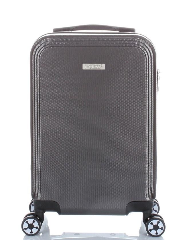 cestovní  kufr  T-Class , palubní velikost , šedý