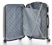 Sada 3 cestovních kufrů T-Class 902 stříbrná