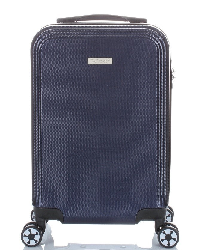 cestovní  kufr   T-Class®  , palubní velikost , modrý