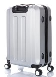Sada 3 kufrů T-Class TPL3011 ABS stříbrná