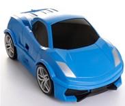 Dětský cestovní  kufr AUTO -  modré