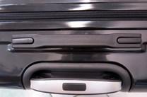 Sada 3 cestovních kufrů T-Class TC618 s TSA zámkem matná stříbrná
