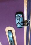 Sada 3 kufrů T-Class TC321 TEXTIL fialová