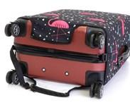 Sada 3 obalů na kufry (plameňáci)