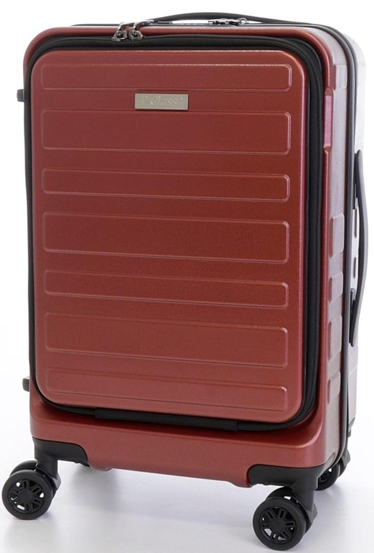Cestovní  kufr T-Class 1981, vel. M - palubní , TSA zámek vínový