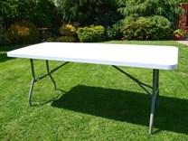 Skládací plastový stůl 183cm