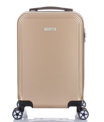 Cestovní  kufr   T-Class® TC1360CH1 , palubní velikost , champagne