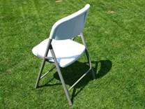 Skládací plastová židle z HDPE plastu