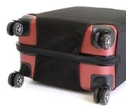 Sada 3 obalů na kufry  (černý)