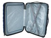 Sada 3 cestovních kufrů T-Class TPL3018 z lehkého ABS plastu, bilá