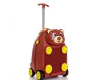 Dětský cestovní kufr MEDVĚD se stavebnicí (kopie
