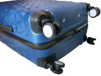 Sada 3 kufrů T-Class TPL3029 ABS modrá