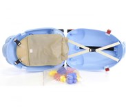 Dětský cestovní kufr SLON se stavebnicí