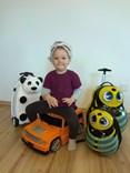 Dětský cestovní  kufr AUTO - růžové