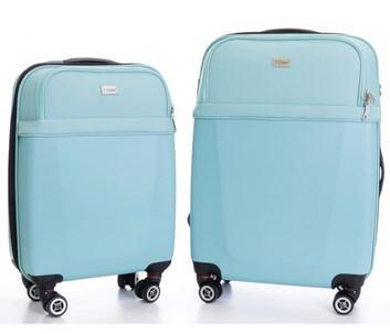 Sada 2 Business kufrů T-Class 1424HM s TSA zámkem, s váhou a s USB přípojkou