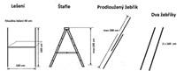 Multifunkčí lešení ,žebřík, štafle  3 v 1