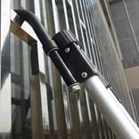 Teleskopický hliníkový žebřík RONO 4,4m PROFI