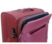 Sada 3 kufrů T-Class  textilní +  TSA zámek