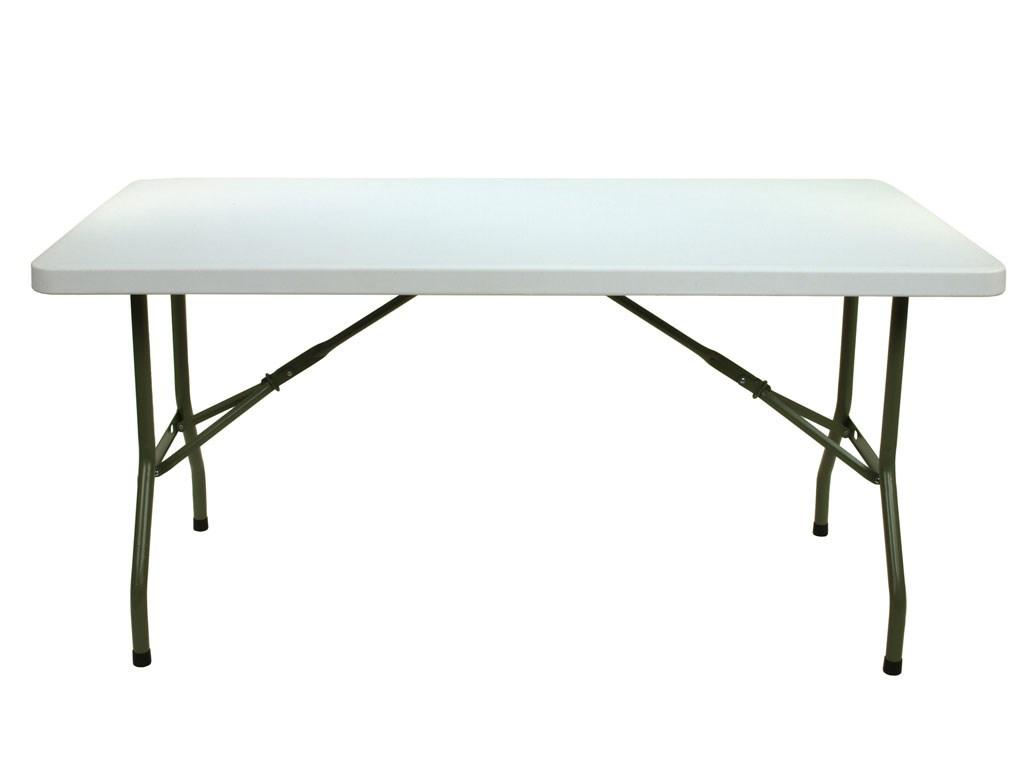 Skládací obdélníkový stůl 152cm