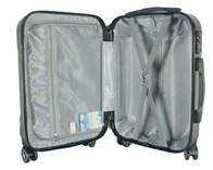 Sada 2 kufrů T-Class 1360 tmavě šedá , ABS plast, TSA zámek