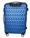 Sada 3 cestovních kufrů T-Class TPL3018 z lehkého ABS plastu, modrá