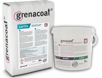 GRENACOAT Hafťák-žáruvzdorná malta, odolnost do 1100°C. Odolává přímému kontaktu s ohněm. Balení 20Kg.