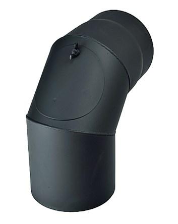Koleno 90° / 160mm/1,5mm s čistícím otvorem
