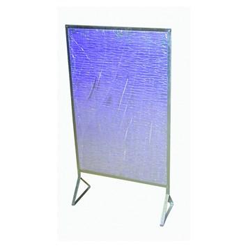 Zástěna ke krbovým kamnům REFLEX se stojanem. 920x610mm Teplotní odolnost do 100°C