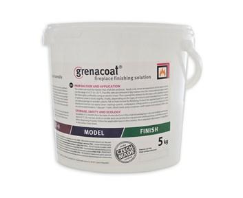 GRENACOAT kamnářská omítka MODEL. 200°C odolnost. Balení kyblík 5Kg
