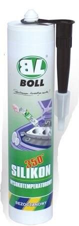 Lepidlo BOLL  290ml- černé, pro lepení žáruvzdorných těsnících šňůr, nebo skel.