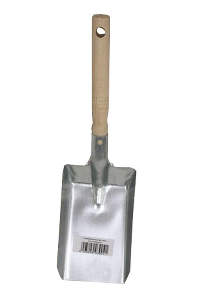 Lienbacher Klasická lopatka na uhlí  10 x 18 cm, držadlo 40 cm