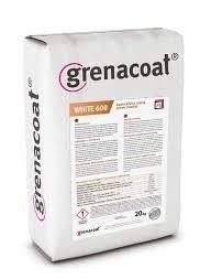 GRENACOAT bílé lepidlo/malta, nosná vrstva pro perlinku WHITE. 600°C odolnost. Balení 20Kg