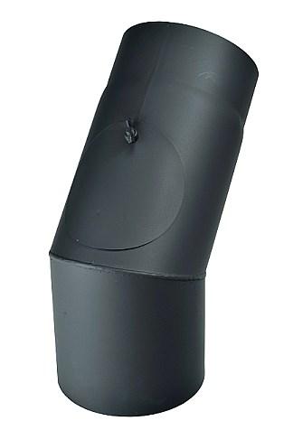 Koleno 45° / 120mm/1,5mm s čistícím otvorem