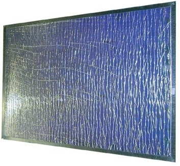 Zástěna ke krbovým kamnům REFLEX  740x610mm Teplotní odolnost do 100°C