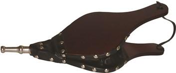 Lienbacher Dmýchadlo dřeva z kůže a nerez tryska  16 x 38 cm