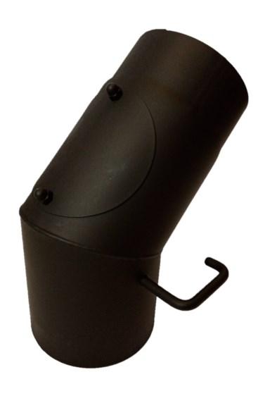 Koleno s klapkou 45° / 180mm/1,5mm čistící