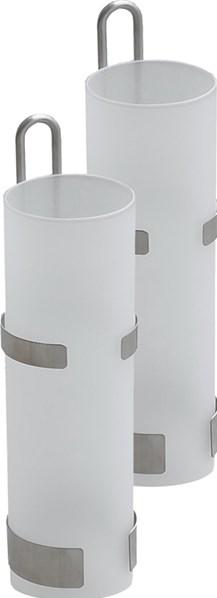 Lienbacher Skleněný odpařovač-zvlhčovač na radiátory,  prům. 5cm, výška 20,5cm