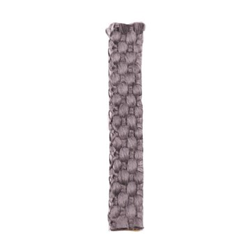 Těsnící pásek-samolepící, plochý, pletený černý  10x2mm  Teplotní odolnost do 550°C