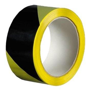 Výstražná páska žlutočerná