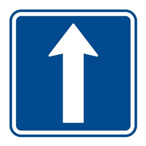 Dopravní značka - Jednosměrný provoz