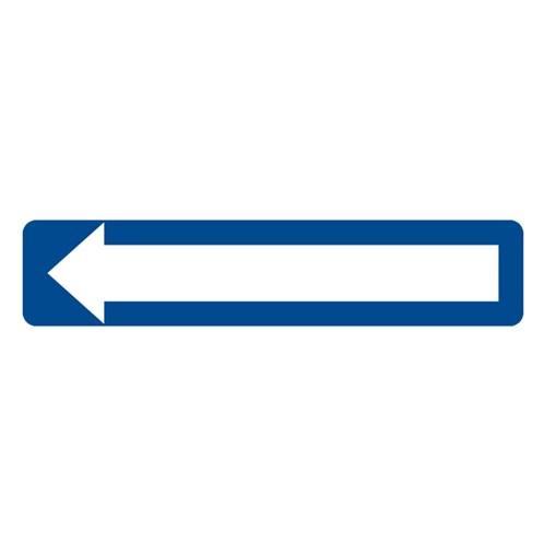 Dopravní značka - Jednosměrný provoz, 800 x 300mm