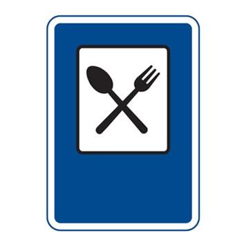 Dopravní značka IJ11a - Restaurace
