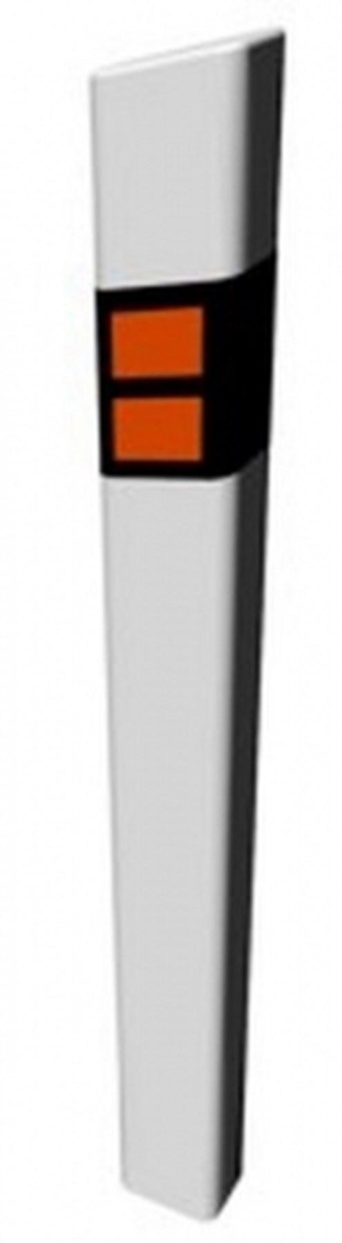 Směrový sloupek Z11 bílý, 1200mm